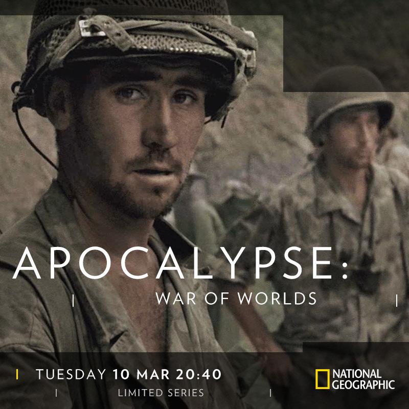 Apocalypse War of Worlds on National Geographic on StarSat DIGITAL