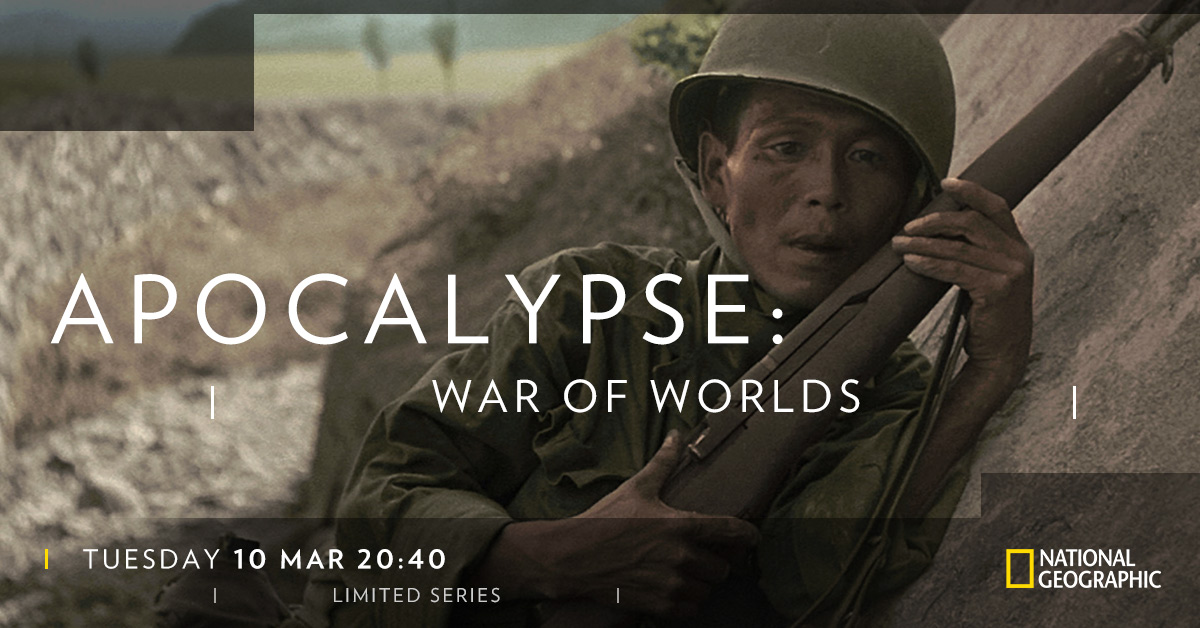Apocalypse War of Worlds on National Geographic on StarSat WEB