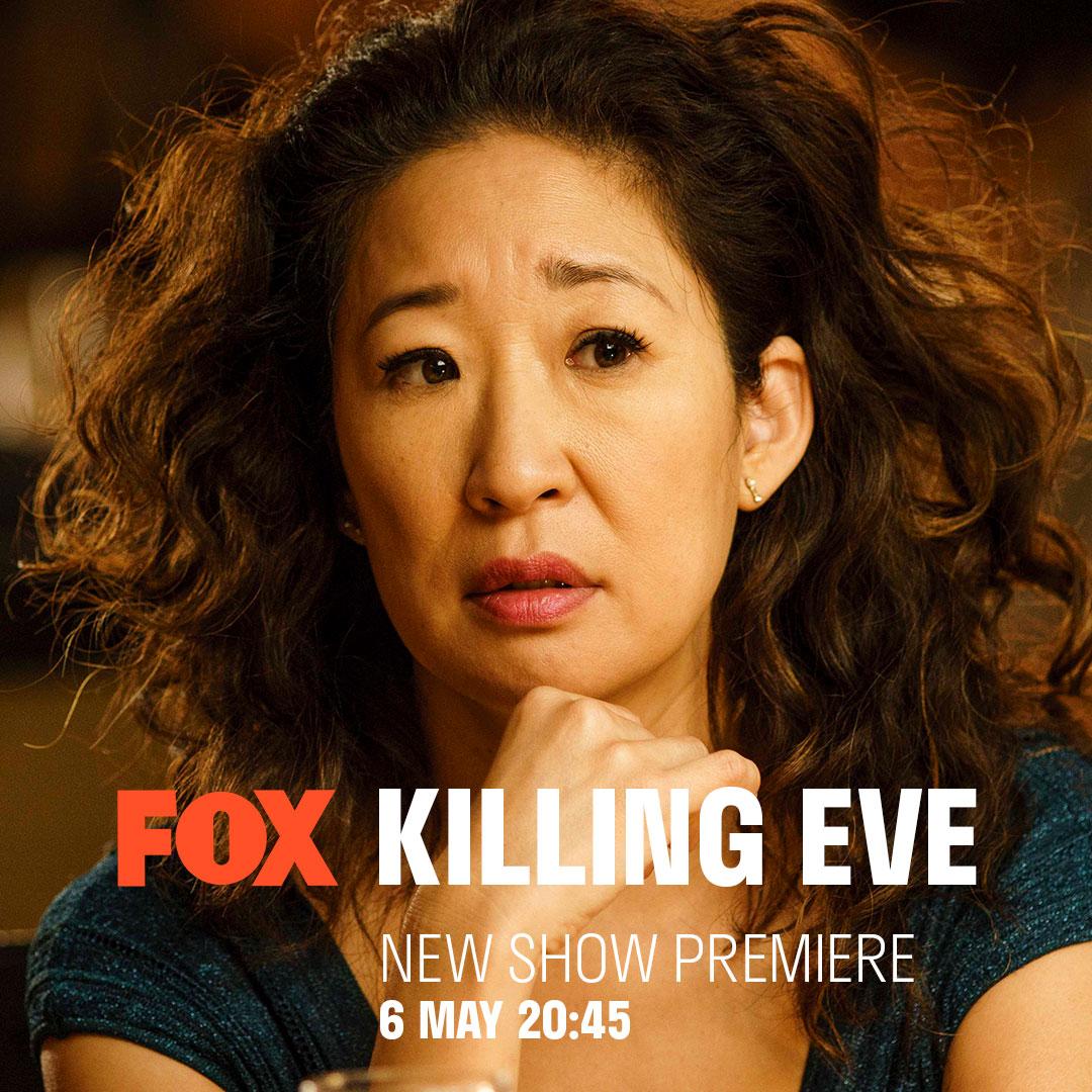 Killing Eve on FOX on StarSat v01