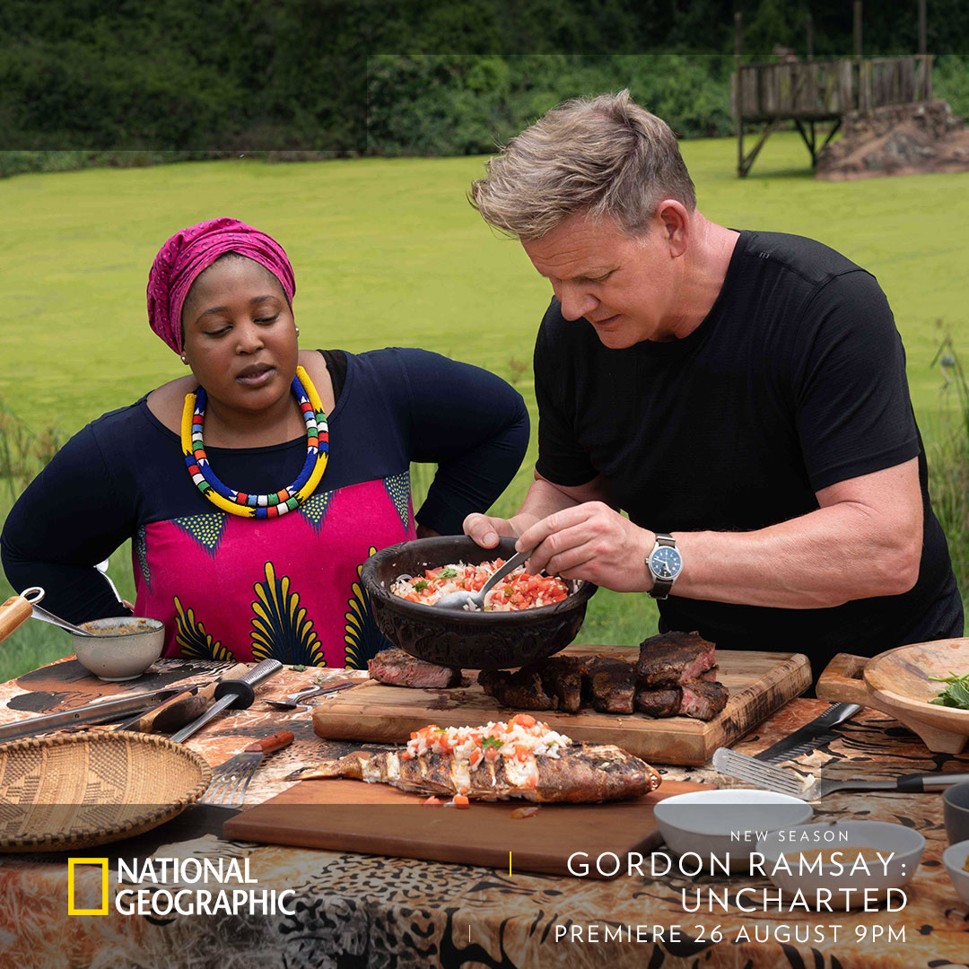 Gordon Ramsay Uncharted (S2) on National Geographic Channel on StarSat