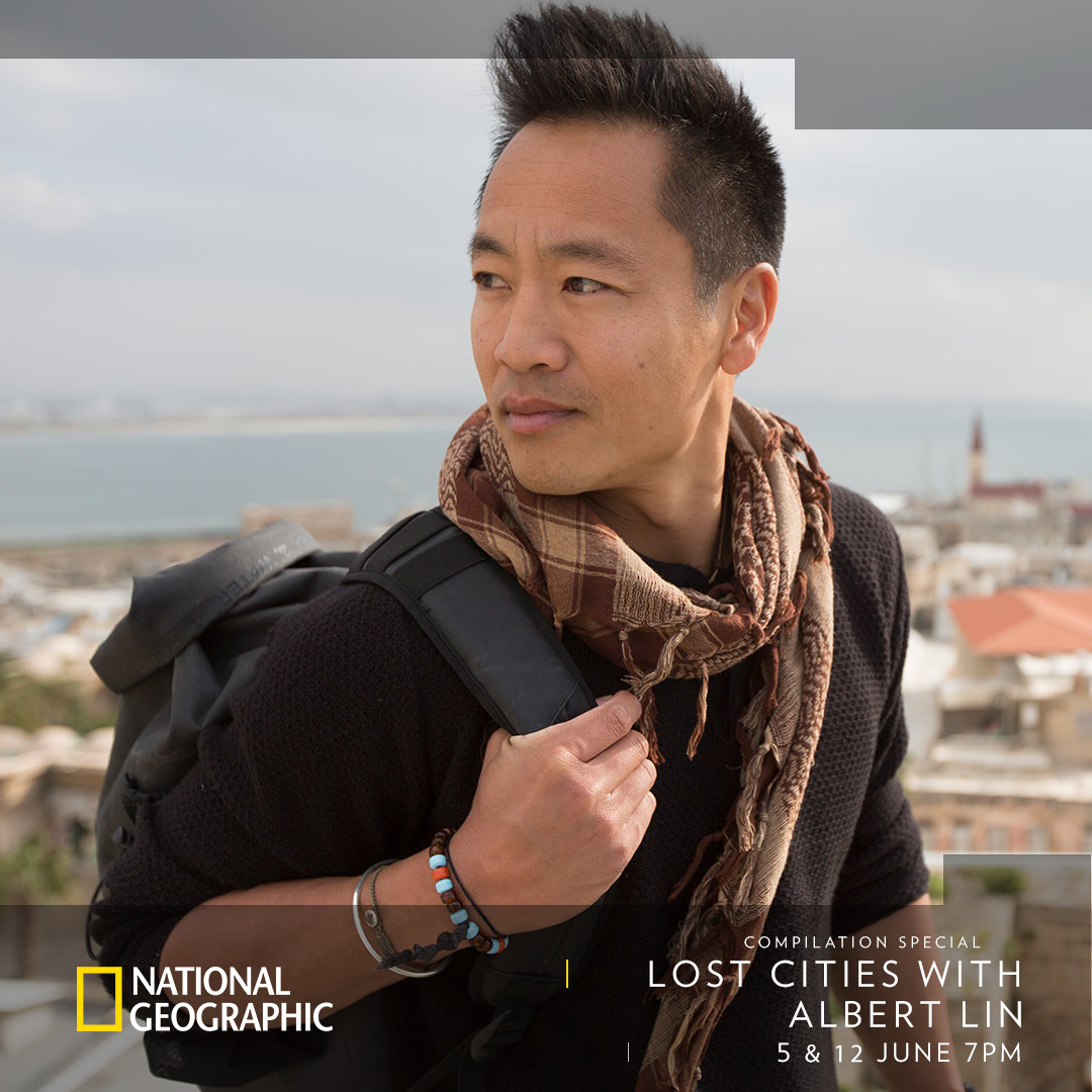 Lost Cities with Albert Lin (Compilation Special) on National Geographic on StarSat - optimized