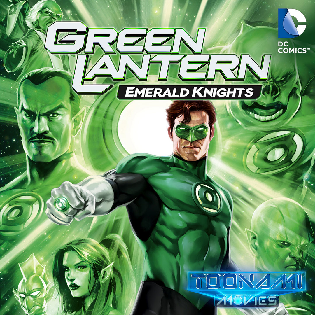 Green Lantern Emerald Knights on Toonami on StarSat - Web