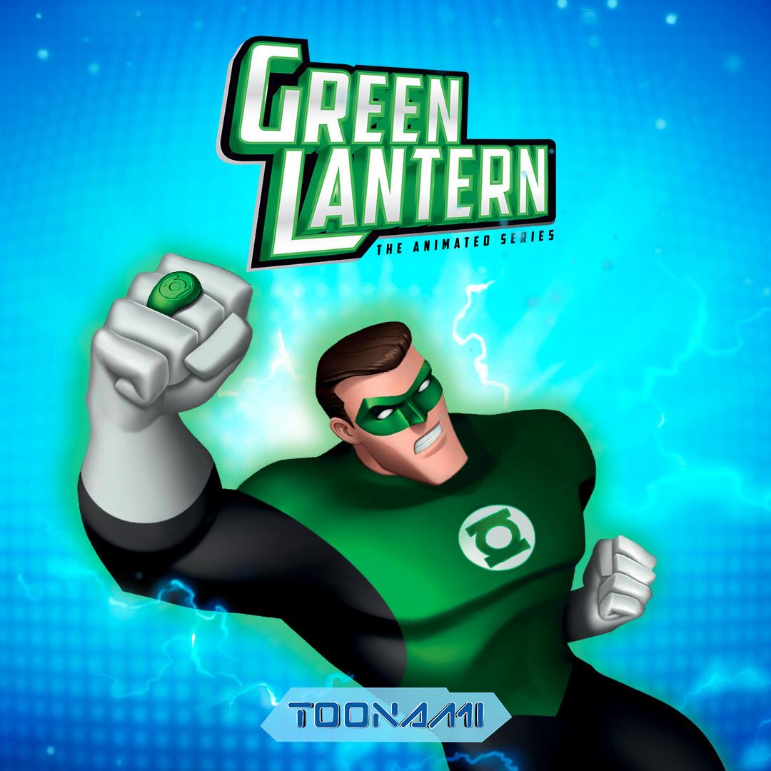 Green Lantern on Toonami on StarSat - Web