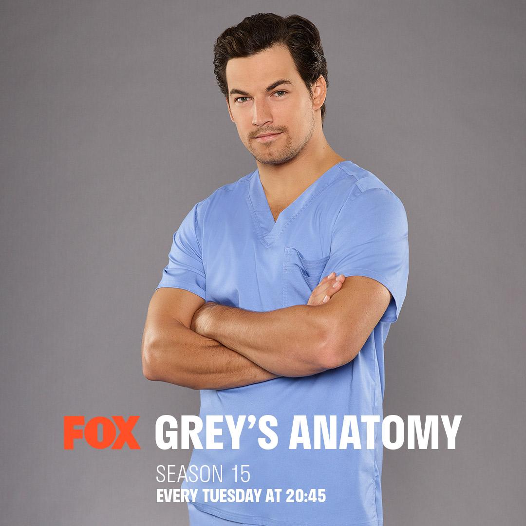 Grey's Anatomy (Season 15) on FOX on StarSat