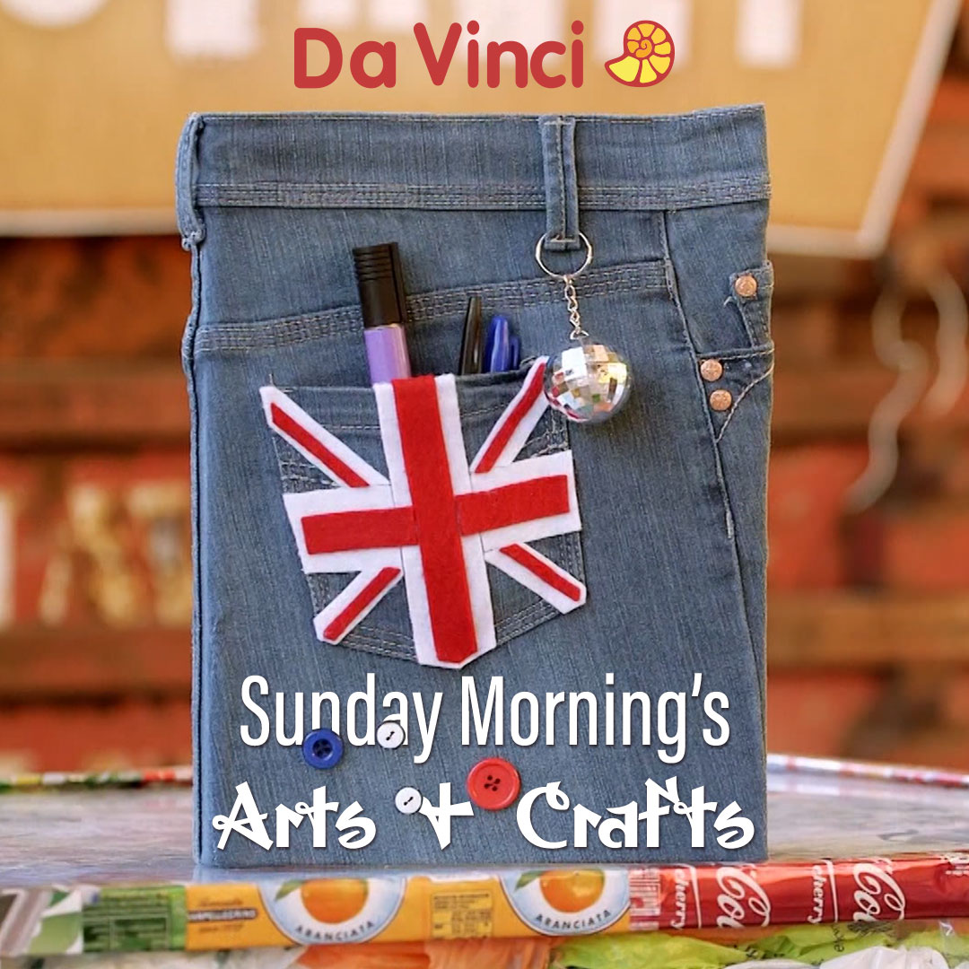 Sunday Morning's Arts & Crafts on DaVinci on StarSat - web