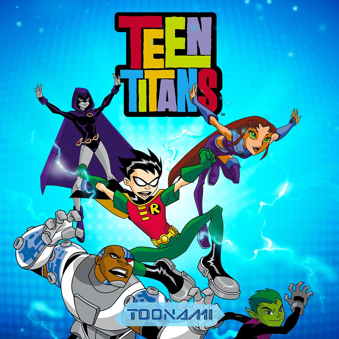 Teen Titans on Toonami on StarSat - Web