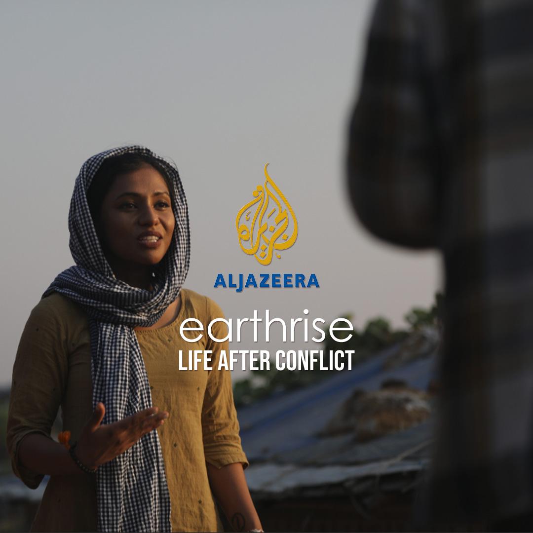 earthrise Life After Conflict on Aljazeera on StarSat - web