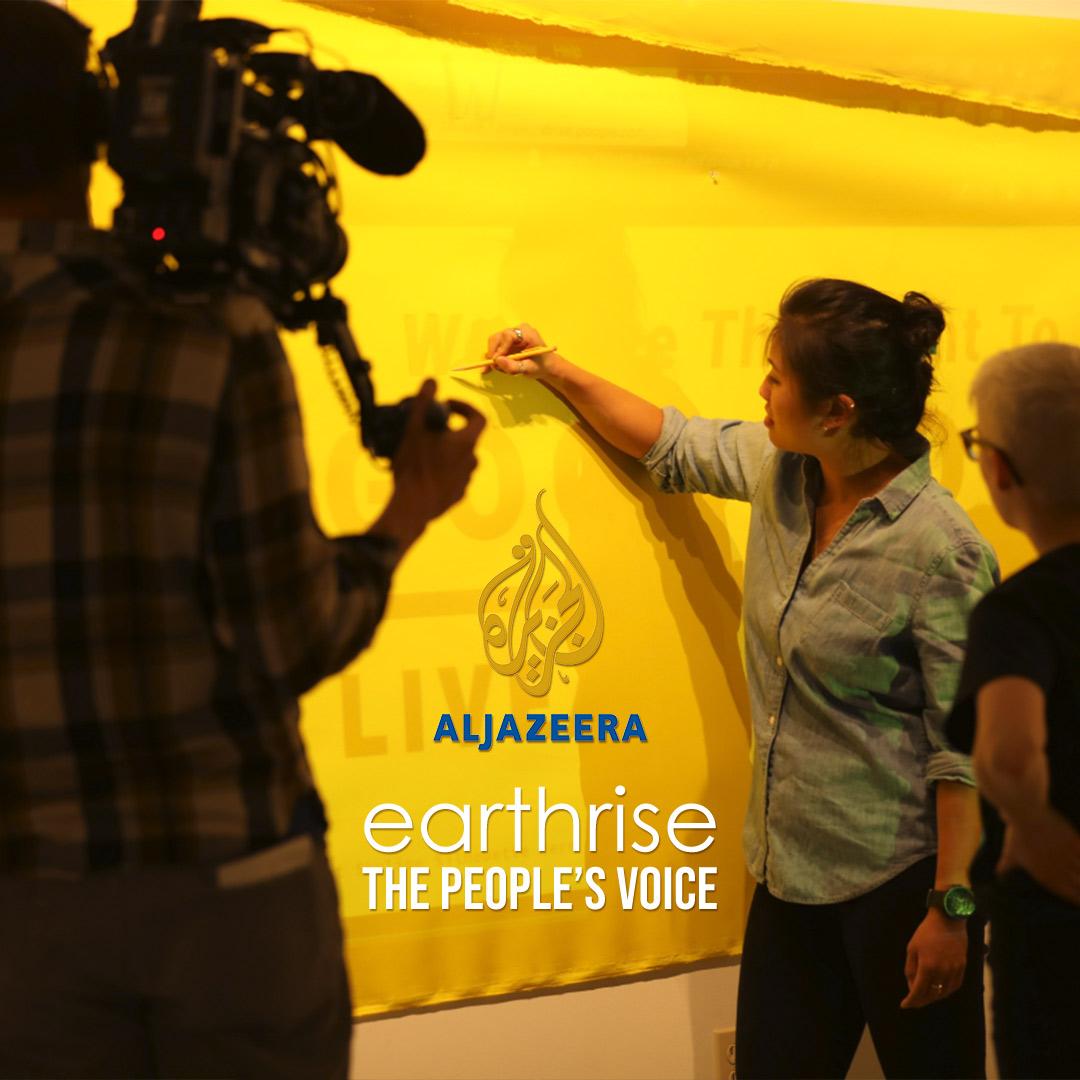 earthrise - The People's Voice on Aljazeera on StarSat - web