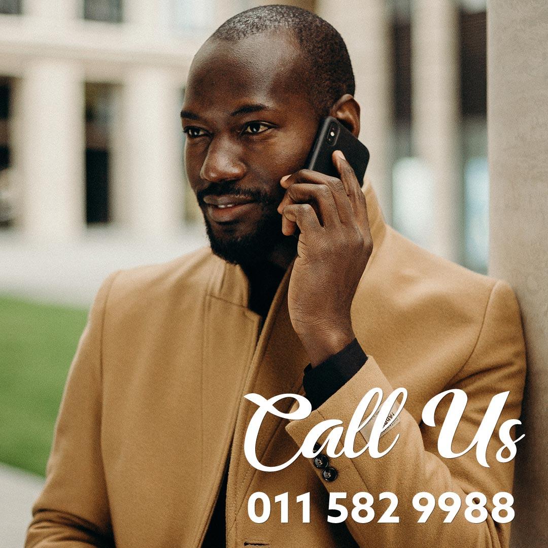 Call Us 011 582 9988