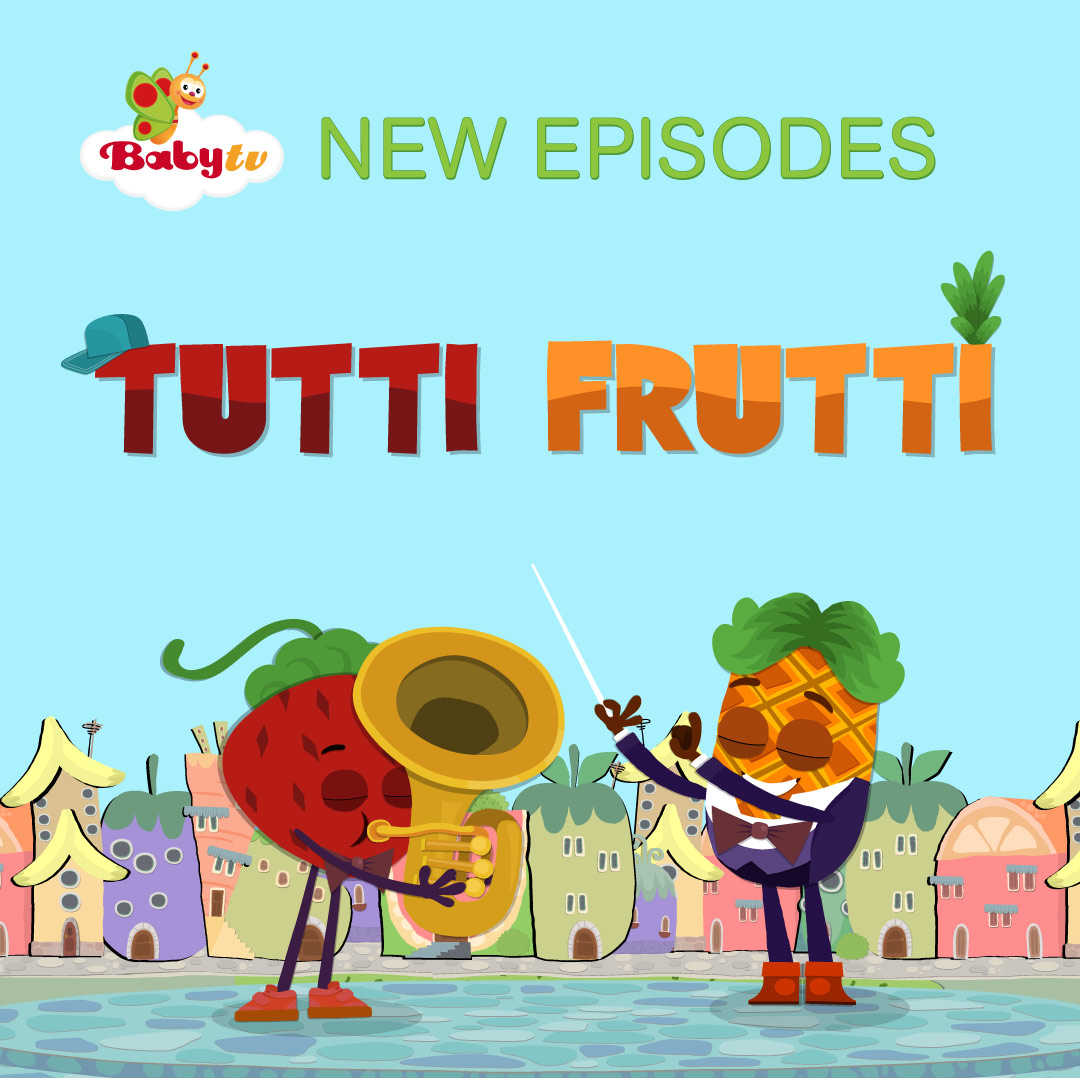Tutti Frutti on Baby TV on StarSat - web