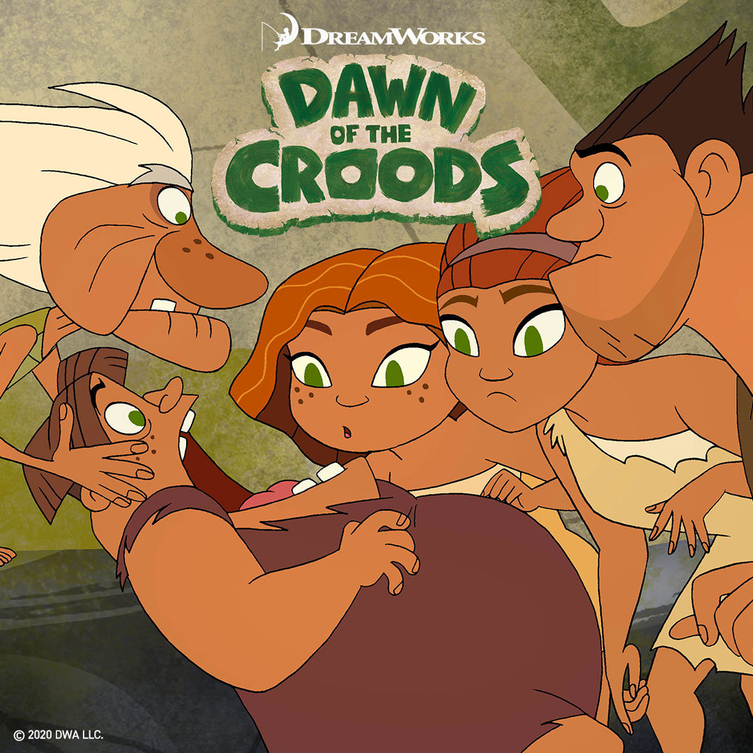 Dawn of the Croods on DreamWorks on StarSat - web