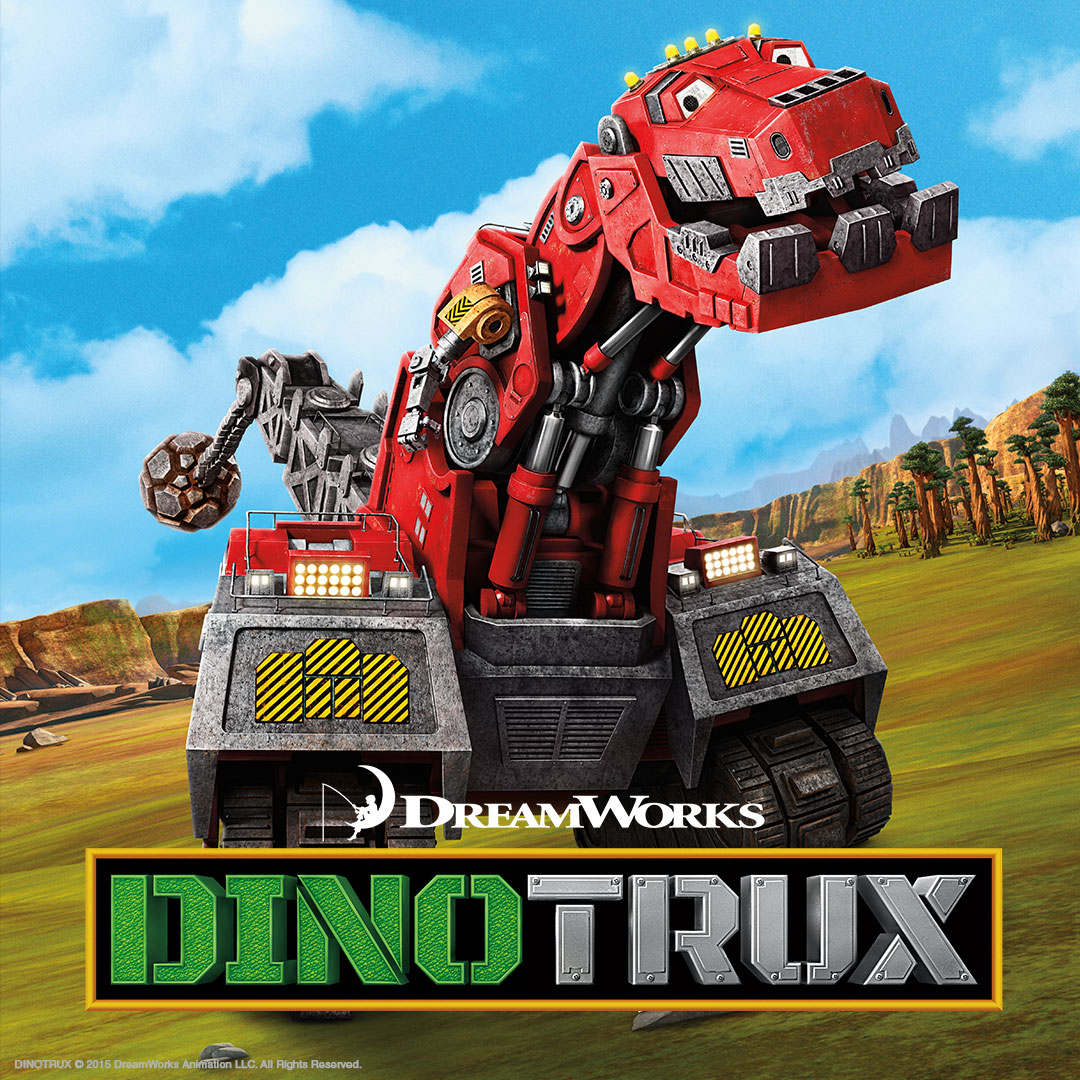 Dino Trux on DreamWorks on StarSat - web