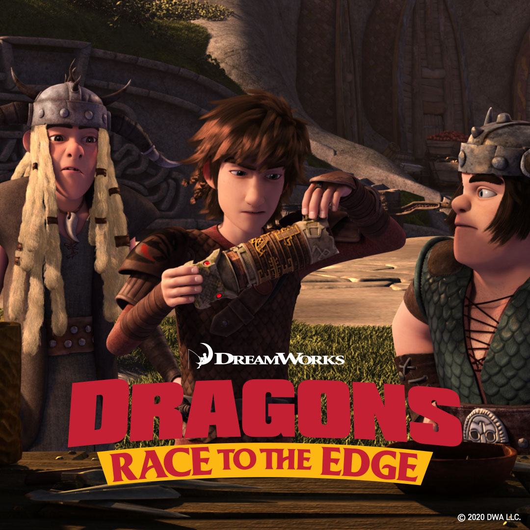 Dragons Race to the Edge on DreamWorks on StarSat o2 - web