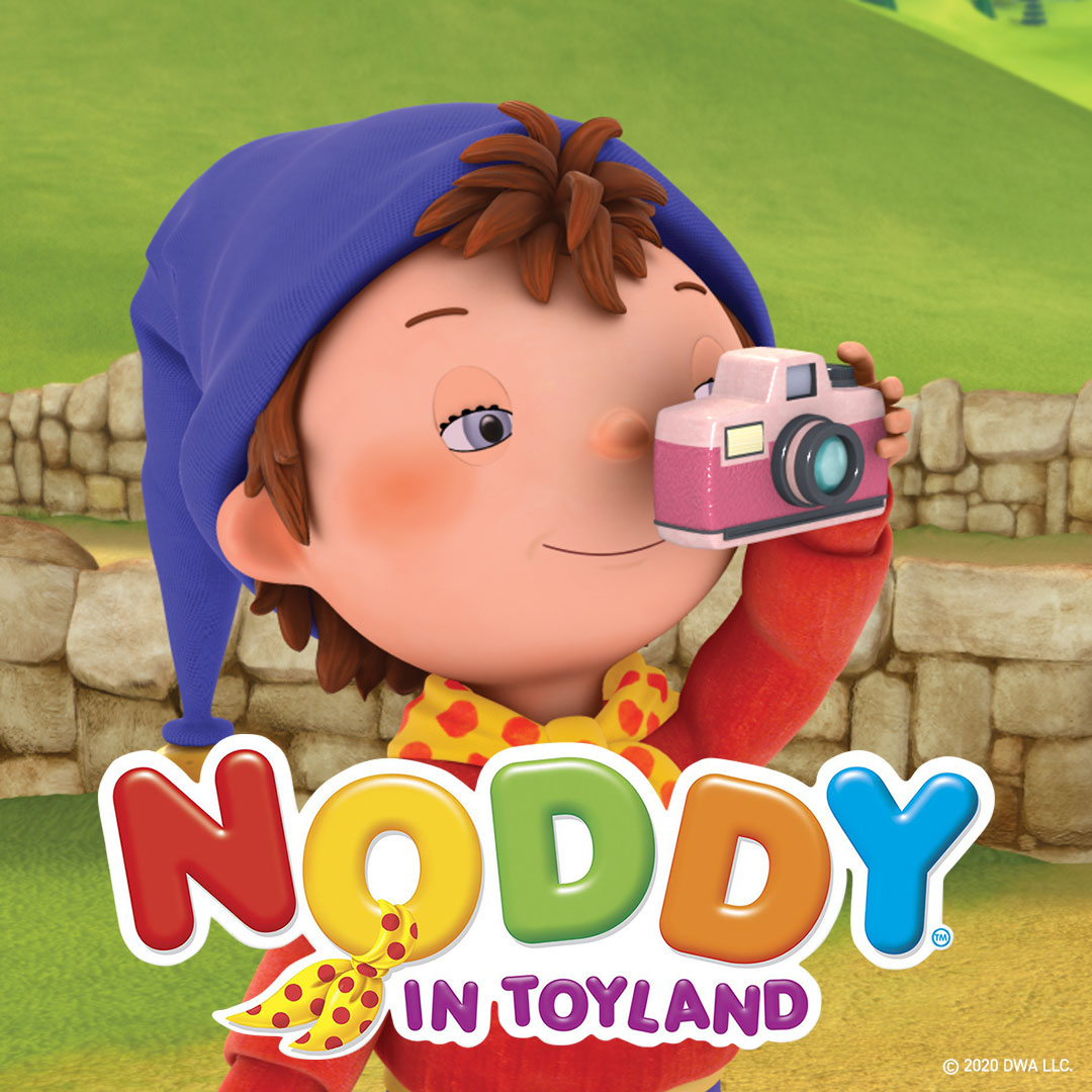 Noddy in Toyland on DreamWorks on StarSat - web