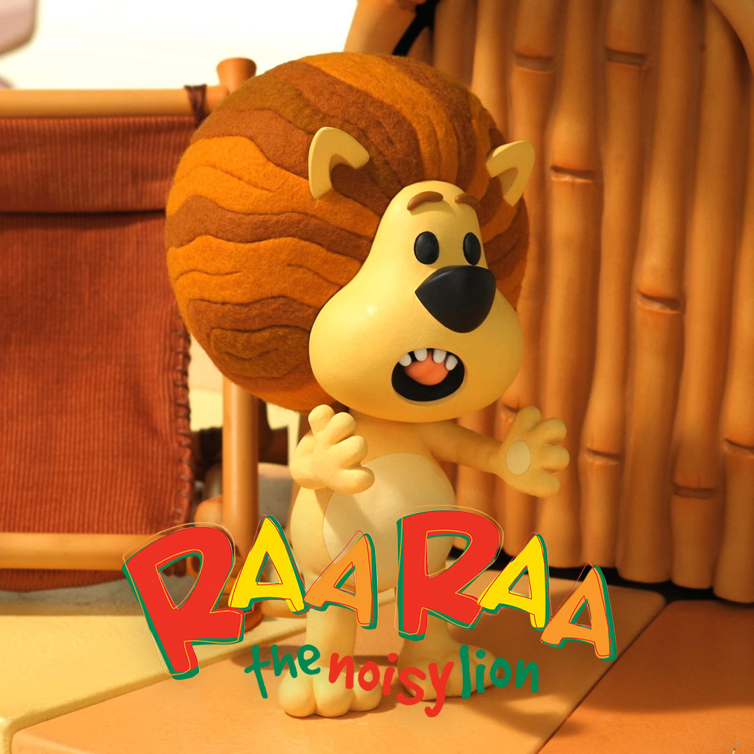 Raa Raa The Noisy Lion on DreamWorks on StarSat - web