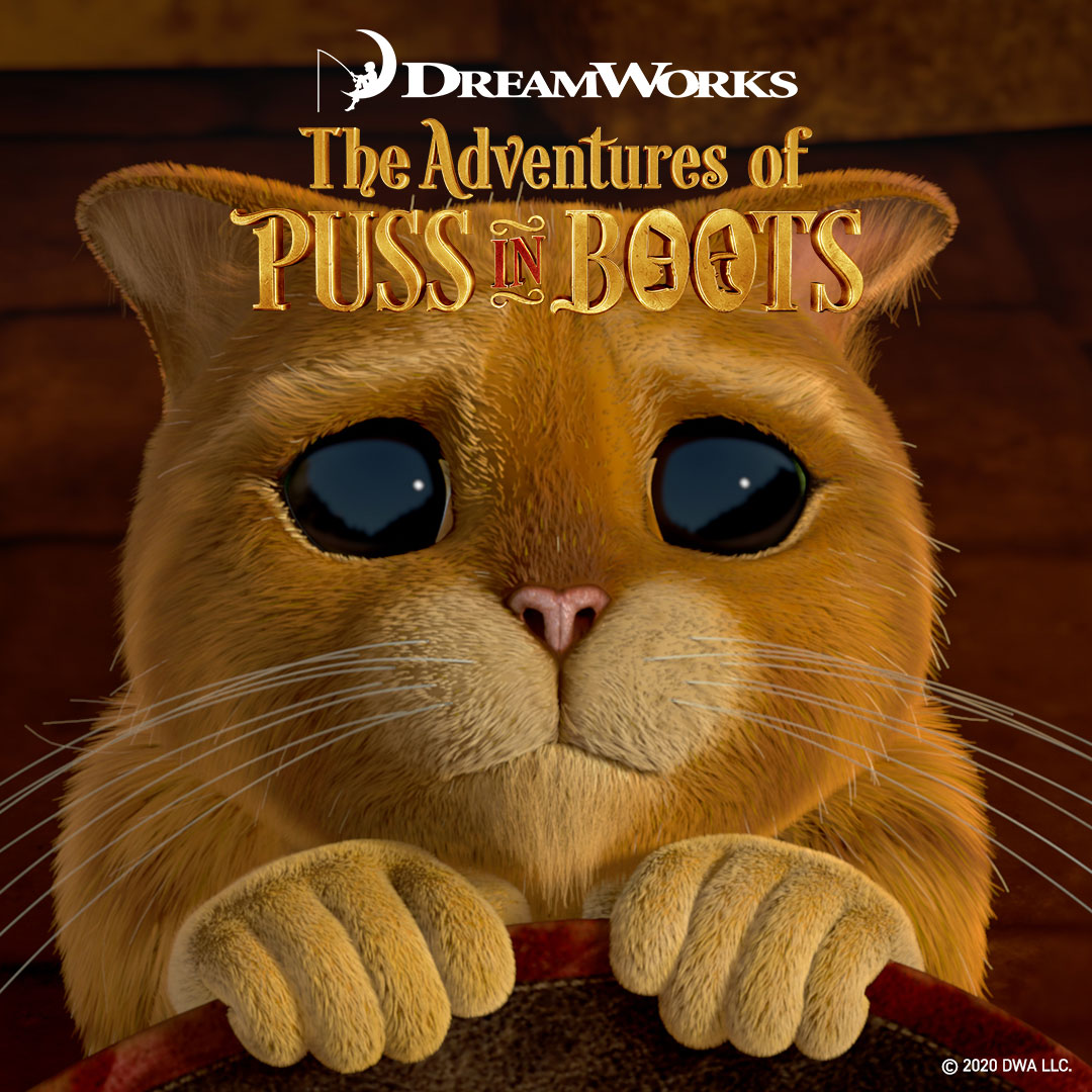 The Adventures of Puss in Boots on DreamWorks on StarSat o3