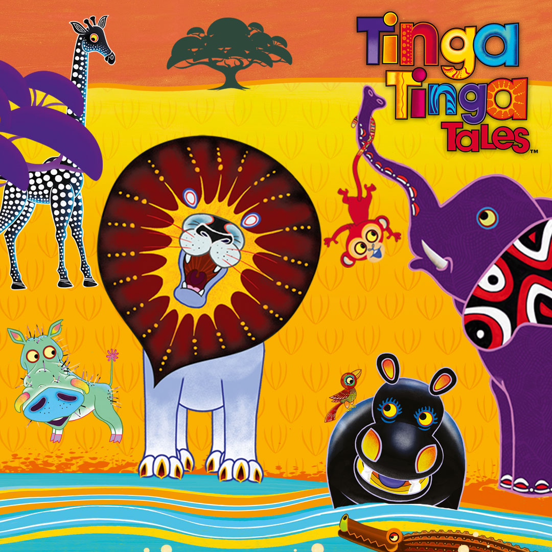 Tinga Tinga Tales on DreamWorks on StarSat - web