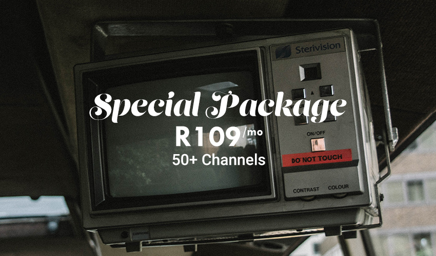 StarSat | StarSat Special Package | Over 50 TV Channels | Only R109